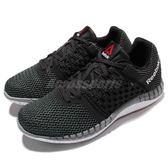 Reebok 慢跑鞋 ZPrint Run 黑 白 透氣網布鞋面 運動鞋女鞋 【PUMP306】 V70859