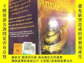 二手書博民逛書店A罕見sudden glow of gold anne fine:一縷金色的光芒Y200392