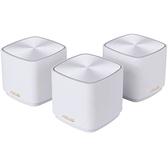 【免運費】ASUS 華碩 ZenWIFI AX Mini XD4 白 (三件組) AX1800 Wi-Fi 6 Mesh 系統 網狀網絡 路由器