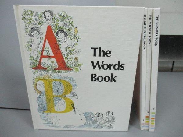 【書寶二手書T5/少年童書_PNR】The World Book_The Me and You Book等_共4本合售