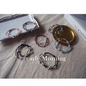 ✦ 正韓 ✦ early Morning - 棉珍珠素色 髮飾 髮圈 髮束 韓國帶回【MEM025】