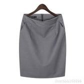 窄裙 職業包裙包臀半身裙女夏工裝短裙子工作裙西裝裙黑色正裝裙一步裙 瑪麗蘇