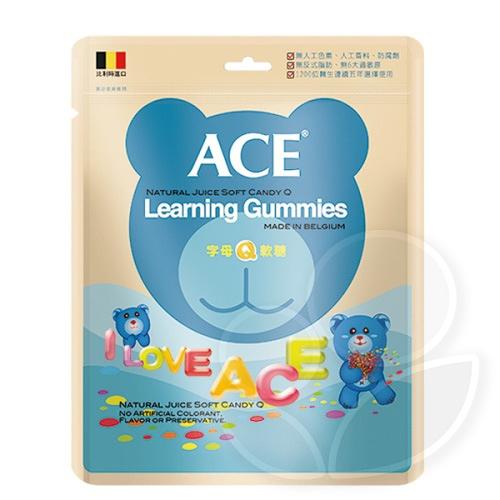 ACE 字母Q軟糖240g【佳兒園婦幼館】