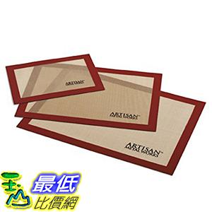 [美國直購] Artisan 3603AM-24 不沾黏矽膠烘培墊 Silicone Non-Stick Baking Mat - 3 Pack