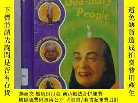 二手書博民逛書店英文原版罕見Odd-inary People by by Mar