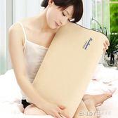 頸椎枕頭太空慢回彈記憶棉成人修復頸椎專用健康枕頭護頸保健枕芯igo 溫暖享家