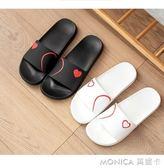 韓版情侶拖鞋女夏外穿家居室內浴室洗澡防滑涼拖居家家用涼拖鞋男 莫妮卡小屋