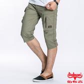BOBSON 男款貼袋七分褲(189-72)