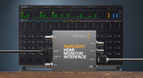 【聖影數位】Blackmagic Design Fairlight HDMI Monitor Interface 轉換器 公司貨