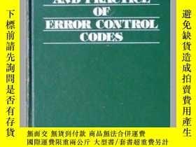二手書博民逛書店Theory罕見And Practice Of Error Control CodesY364682 Rich