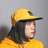 NEW BALANCE 帽子 戶外運動帽 黃綠撞色 休閒 (布魯克林) MH032048KNO