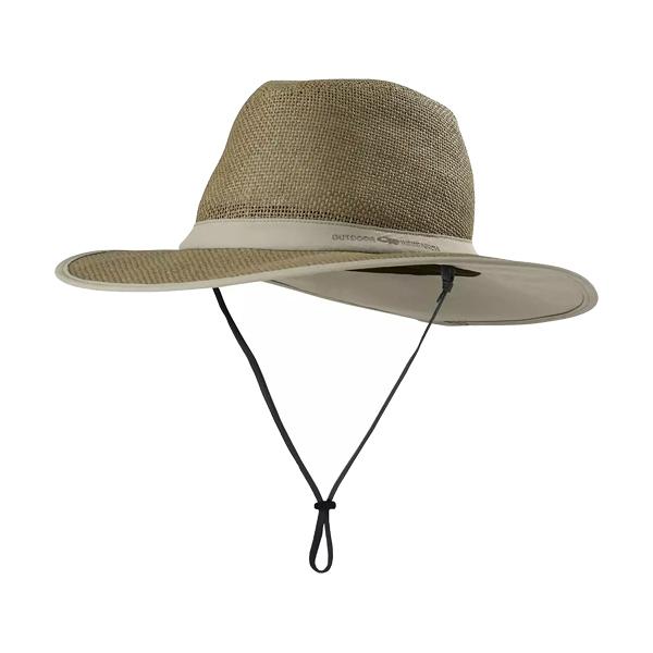 [OUTDOOR RESEARCH] Papyrus Brim Sun Hat 編織紳士盤帽 卡其 (OR243408-0800)