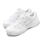 Nike 網球鞋 Wmns Court Lite 2 白 銀 女鞋 運動鞋 【PUMP306】 AR8838-101