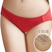 思薇爾-星願系列M-XL蕾絲低腰三角褲(蜂蜜膚)