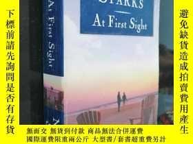 二手書博民逛書店MTCHOLAS罕見SPARKS AT First (Sight