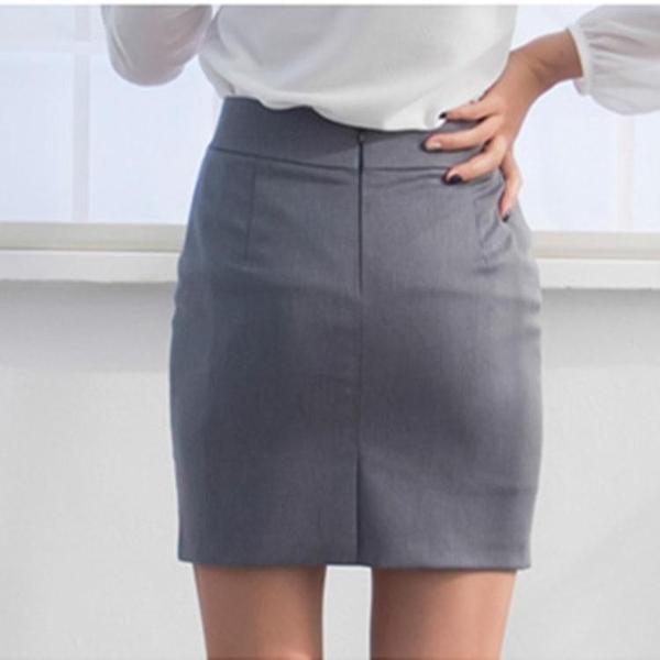 降價兩天 春夏職業工裝裙短裙 簡約一步裙 修身西裝裙女ol半身裙包裙正裝裙