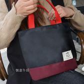 便當包手提包正韓小清新防水大號飯盒包飯盒袋手提袋便當盒袋日本【購物節限時優惠】