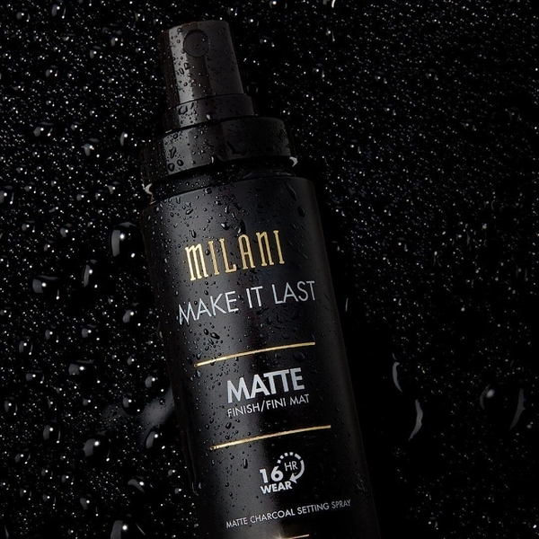 Milani Make It Last Charcoal Matte 長效持久霧感控油定妝噴霧 60ml