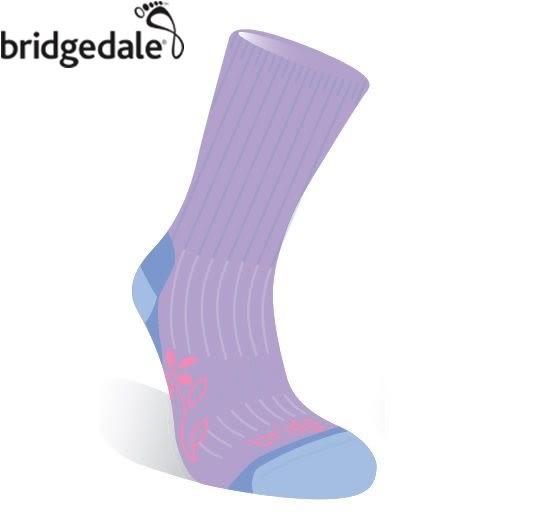 Bridgedale 英國 TK健行者 美麗諾-中厚 女 S 薰衣草紫 627 登山襪子 健行襪 排汗襪 保暖襪 [易遨遊]