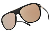 Polaroid 偏光太陽眼鏡 PLD2070SX 003LM (霧黑金-棕白水銀棕) 復古潮流款# 金橘眼鏡