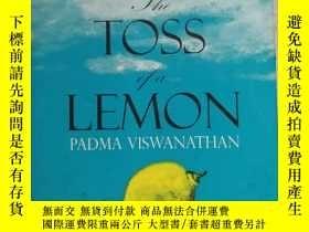 二手書博民逛書店16開英文原版罕見The toss of a lemonY281