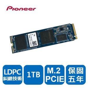 【綠蔭-免運】Pioneer 先鋒 APS-SE20G-1TB固態硬碟(M.2 PCIE)(五年保)