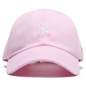 MLB 創信代理 洋基隊 粉紅 白刺繡LOGO 可調扣帽 男女 (布魯克林) 5762004120