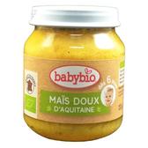 法國倍優 Babybio 有機甜玉米泥-130g