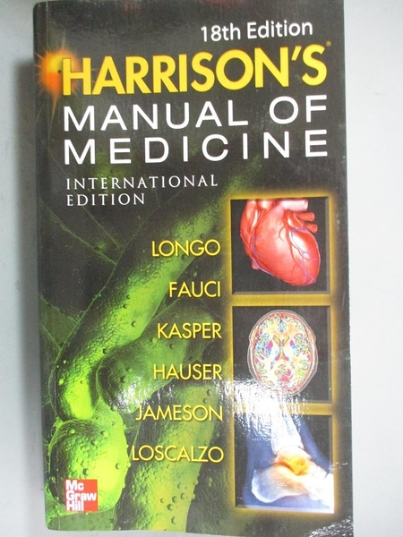 【書寶二手書T7/大學理工醫_NQB】Harrison s of Manual of Medicine_Stephen