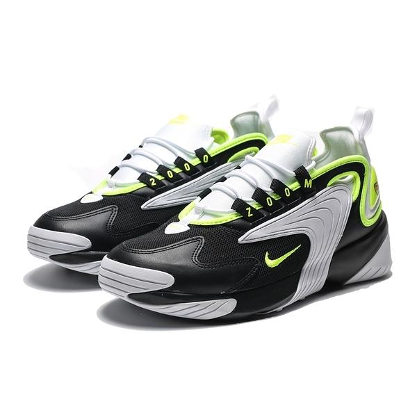 NIKE ZOOM 2K SAIL WHITE  黑 白 螢光綠 休閒鞋 男 (布魯克林) 2019/05月 AO0269-004