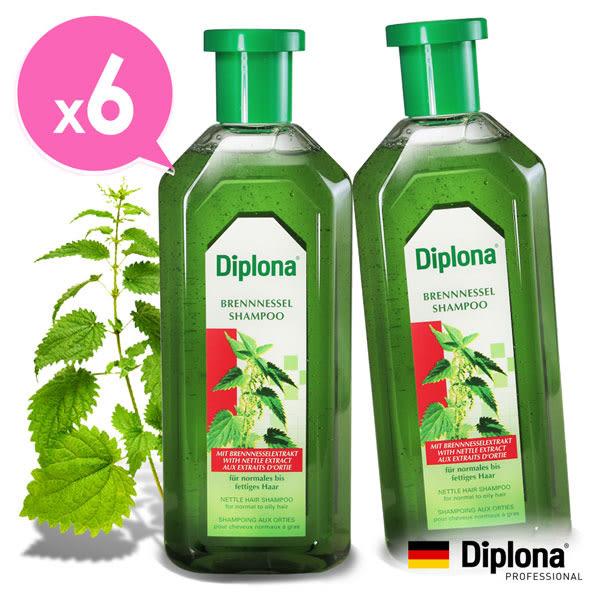 德國Diplona植萃大蕁麻洗髮精超值六入組(不含矽靈)