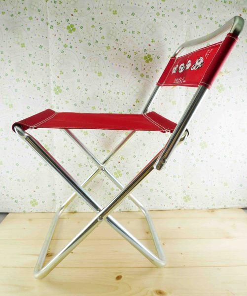 【震撼精品百貨】たれぱんだ_趴趴熊~摺疊椅-紅色