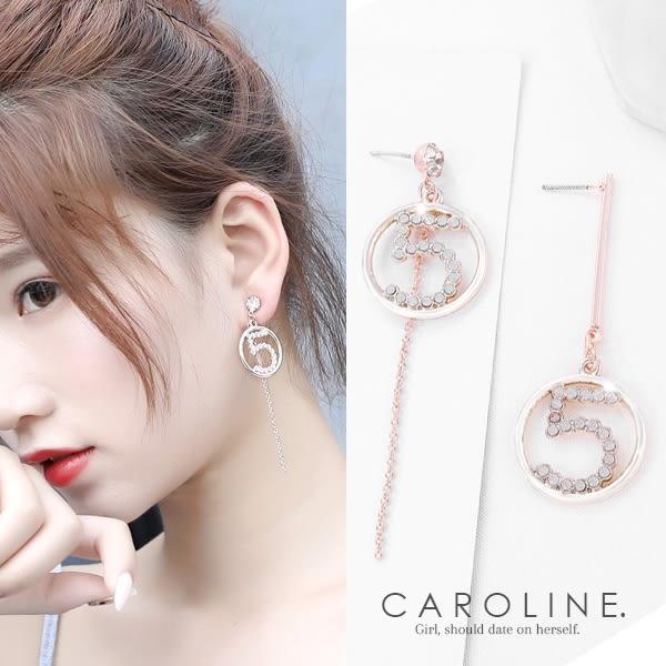 《Caroline》★韓國熱賣造型時尚絢麗閃亮動人.優雅性感耳環70176