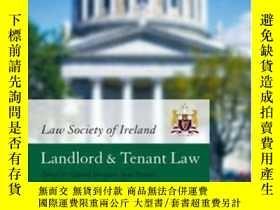 二手書博民逛書店Law罕見Society Of Ireland Manual: Landlord And Tenant Law-愛