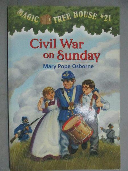 【書寶二手書T5/原文小說_GJE】Civil War on Sunday_Osborne, Mary Pope/ Mu