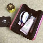 ✭慢思行✭【N108】航空硬盒收納包 出差 旅行 便攜 化妝品 拉鍊 網袋 裘莉包 過夜包 洗漱 手拿