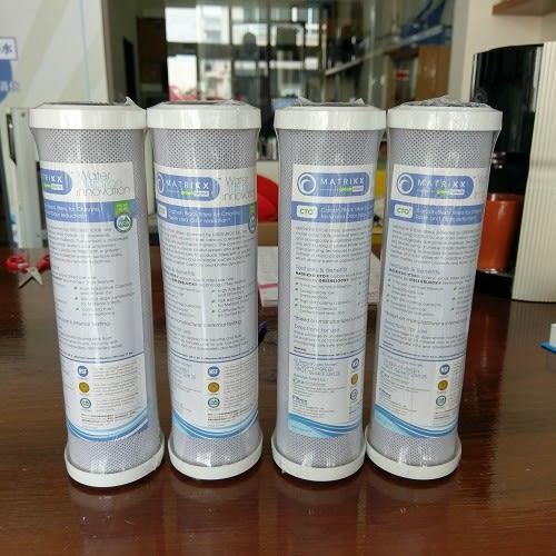 美國KX高效能壓縮柱狀活性碳濾芯【NSF認證】【破盤破盤大破盤】【4支特價$560】