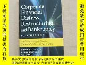 二手書博民逛書店Corporate罕見Financial Distress,Restructuring,and Bankruptc