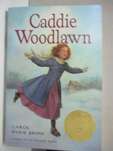 【書寶二手書T3/少年童書_GIX】Caddie Woodlawn_Brink, Carol Ryrie