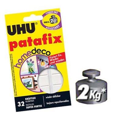 [奇奇文具]【UHU 萬用貼土】UHU-057 萬用粘土  抗重2kg
