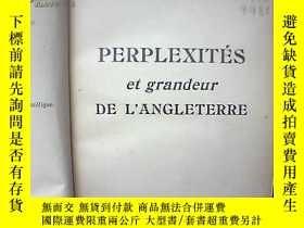 二手書博民逛書店PERPLEXITÉS罕見ET GRANDEUR DE L'AN