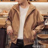 夾克外套男士夾克加厚外套韓版休閒寬鬆外衣潮牌工裝學生秋冬季上衣棒球服  夢想生活家
