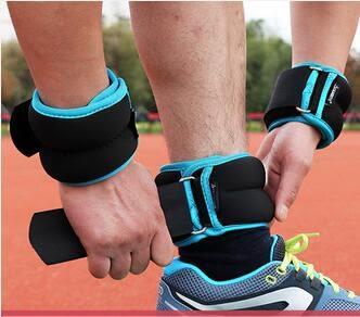 健身裝備隱形可調負重綁腿沙袋DLL15635『黑色妹妹』