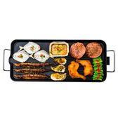 電烤盤韓式烤肉機無煙燒烤爐不粘鍋燒烤盤大號烤肉盤 名稱家居館igo