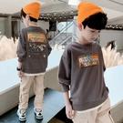 男童上衣 男童春2021新款洋氣長袖t恤打底衫兒童秋裝衛衣中童上衣潮【快速出貨八折鉅惠】