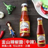 泰國 GOLDEN MOUNTAIN 泰小金山辣椒醬 (中辣) 230g 辣椒醬 蒜頭辣椒醬 沾醬 炒麵 拌麵