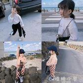 女童長袖上衣 冬季新款韓版兒童加絨內搭打底衫潮  嬌糖小屋