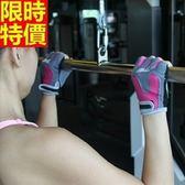 健身手套(半指)可護腕-舉重啞鈴排汗透氣訓練女騎行手套6色69v33[時尚巴黎]