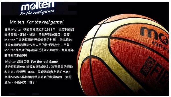 [陽光樂活=] MOLTEN 12片貼深溝橡膠籃球 標準7號球 黑x黃 限時下殺63折