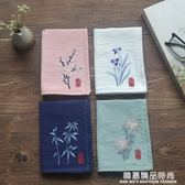 梅蘭竹菊 原創古風中國風男女士刺繡花手帕